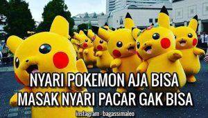 DP BBM ucu dan Gokil Pokemon GO