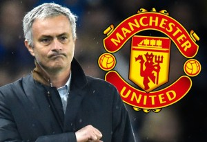 Mourinho With Manchester United