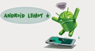 Smartphone Android Lemot